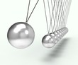 Newton Cradle Shows Energy And Gravity