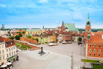 Castle square (Plac, Zamkowy), Warsaw