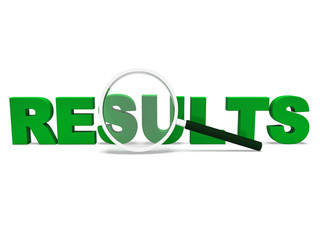 Results Word Shows Score Result Or Achievement