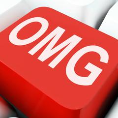 Omg Keys Show Oh My God Or Shocked.