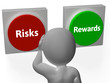 Risks Rewards Buttons Show Roi Or Payoff