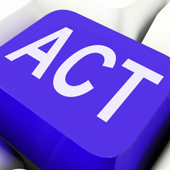 Act Key Means To Perform Or Do.