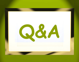 Q&a On Screen Shows Info Questions And Answers Online