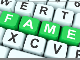 Fame Keys Show Famous Or Popular.