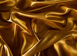 Gold luxury satin