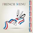 French menu