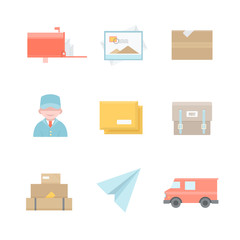 Post office related icons