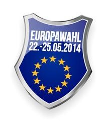 Europawahl 2014 - Schild