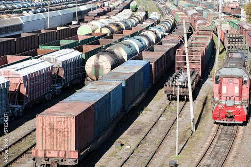 freight trains - 57024217