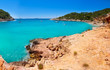 Ibiza cala Saladeta in san Antonio Abad at Balearic