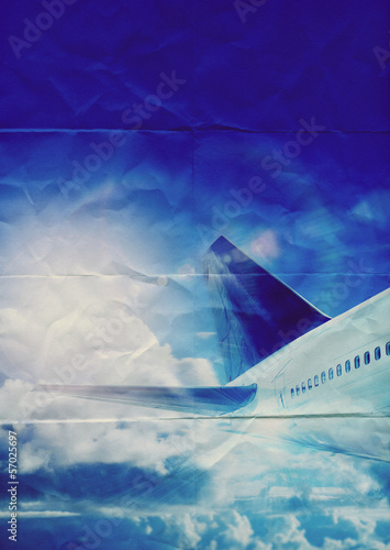 aircraft paper texture