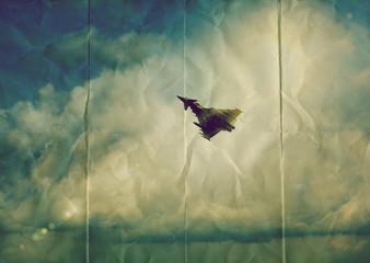 paper fighter jet