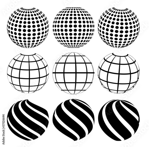 Abstract dotted sphere © robu_s