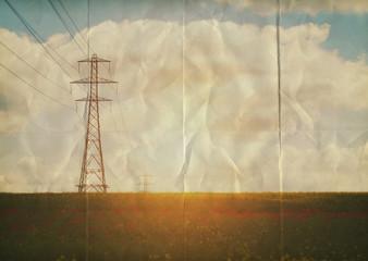 paper pylons