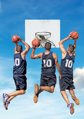 three dunkers