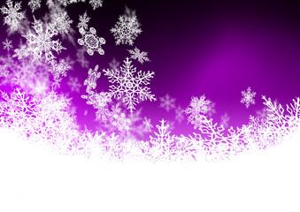 Hintergrund, Winter, Violett, Lila, Schneeflocke, Eisblume, Eis