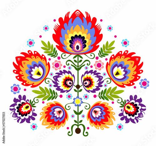 ludowy-wzor-kwiaty