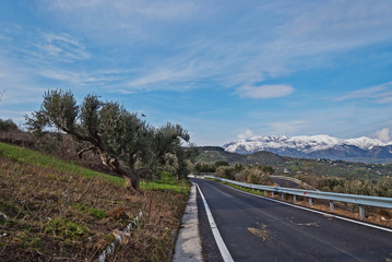 Winter in Sizilien