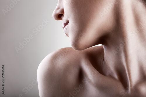 Leinwanddruck Bild Skin care