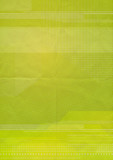 green graphic paper
