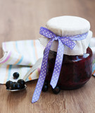 Black currants jam