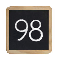 the number 98