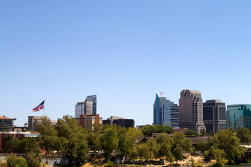 Sacramento Cityscape View