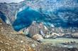 Glacier ice cave at Kverkfjoll