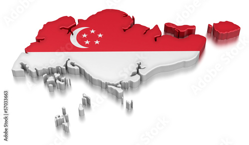 Singapore (clipping path included)