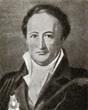 Johann Wolfgang von Goethe, German writer and politician.