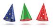 festive caps set
