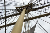 Masts, rigging and yardarms