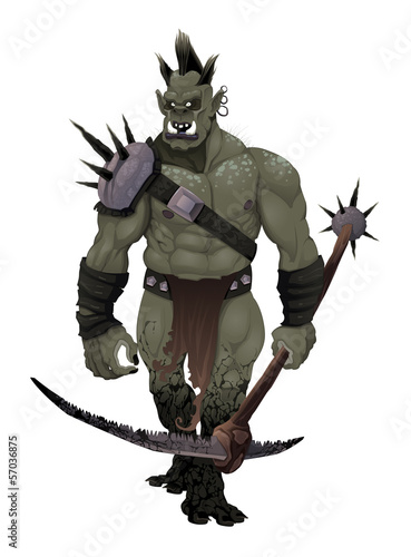 Warrior ogre.