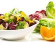 Salat mit Orange