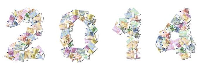 2014 réussite argent billet