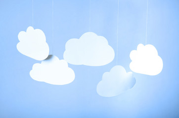 Clouds - perfect to web page slider background 1