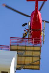 Hoist to offshore windturbine