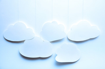 Clouds - perfect for web page slider background 4