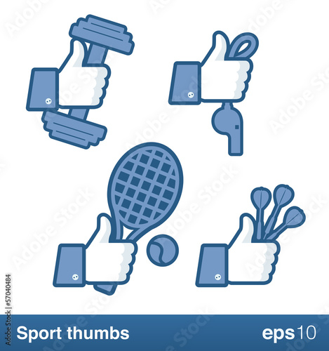 Sport like thumbs