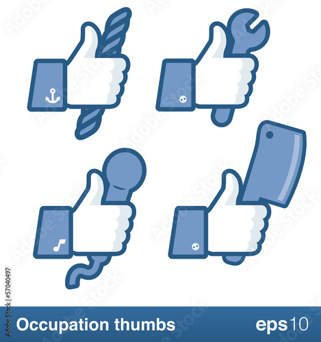 Occupation like thumbs
