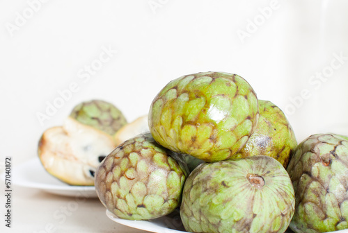 fruits of cherimoya