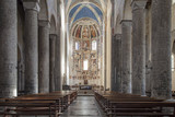 Como: Interior of the Church of San Abbondio
