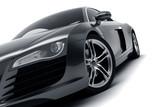 Black Sports Car - 57043019