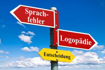 Sprachfehler / Logopädie