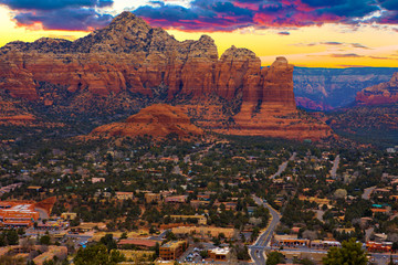 Sunset Vista of Sedona, Arizona