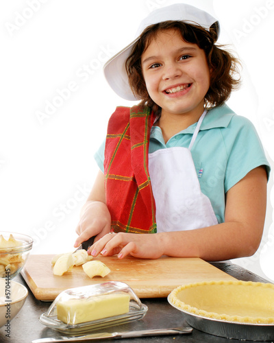 Young Pie Maker