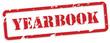 Yearbook Rubber Stamp Vector