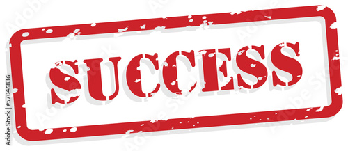 Success Rubber Stamp Vector