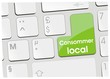 clavier consommer local