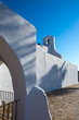 Ibiza Sant Carles de Peralta white church in Balearic